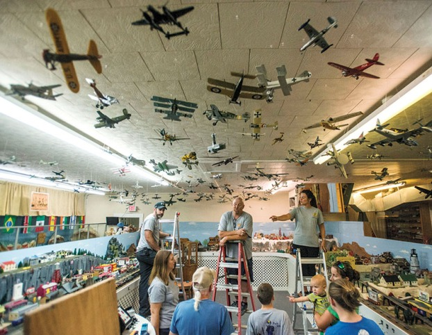 A Busy Sky Cub Scouts Help Museum