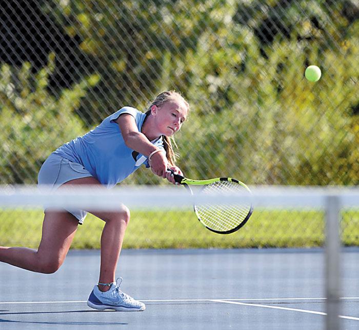 High School Girls Tennis Banner Season Ends For West Rowan Salisbury Post Salisbury Post